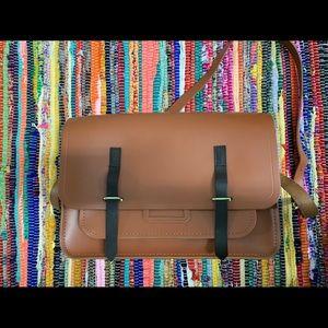 Leather Cambridge Satchel Side Bag
